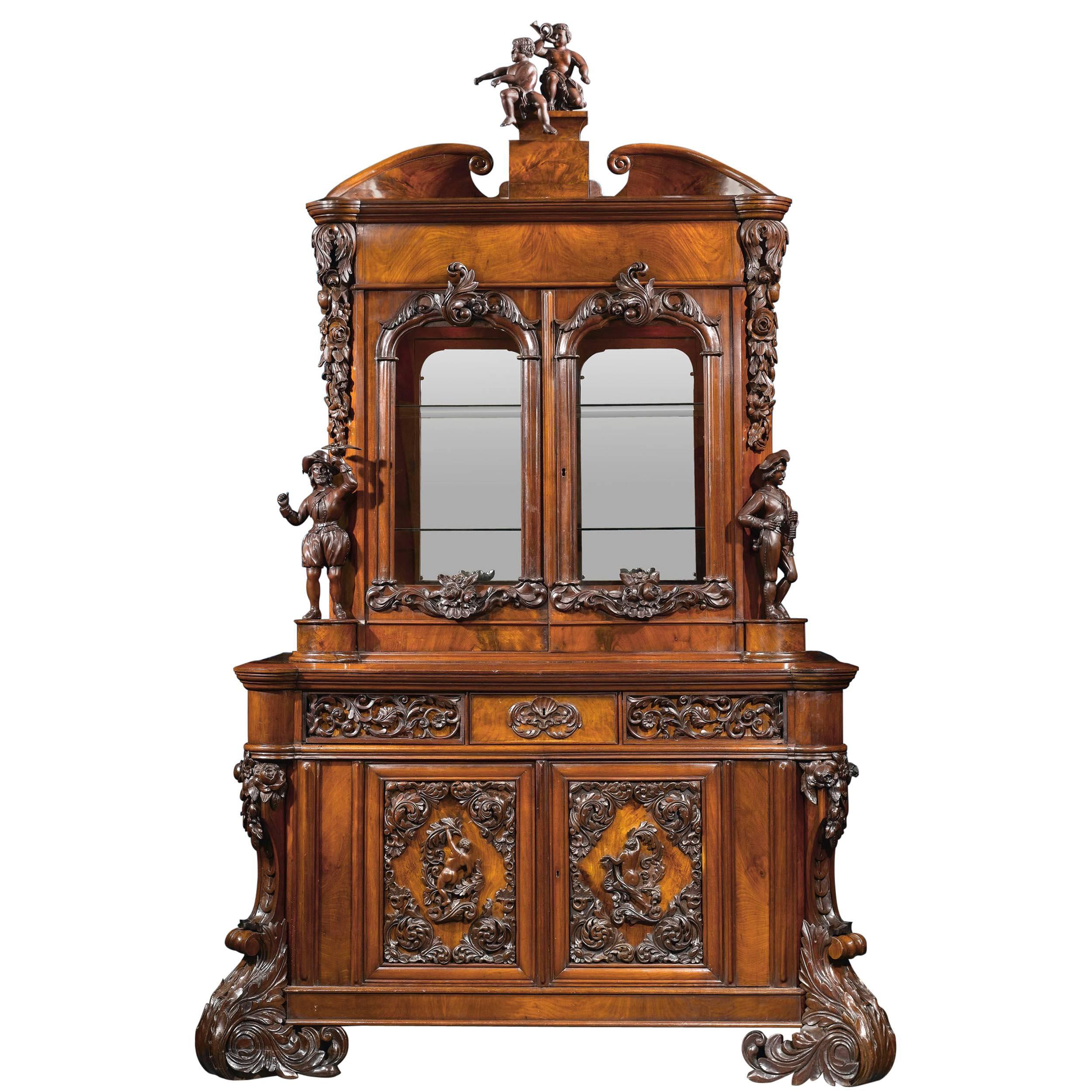 s auction media bookcase merrill revolving rotating jpg oak