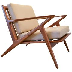 Z Lounge Chair by Poul Jensen for Selig