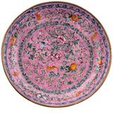 18th Century Chinese Canton Enamel Plate