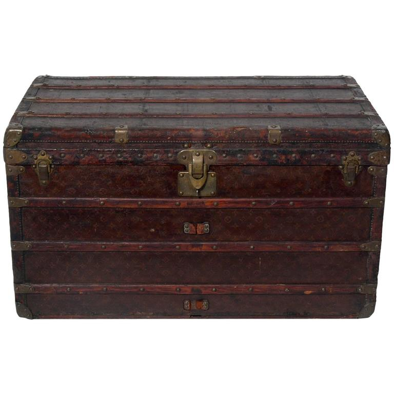 Louis Vuitton Wardrobe Steamer Trunk