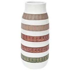 Italian Mid Century Modern Aldo Londi Bitossii Ceramic Vase/ Vessel