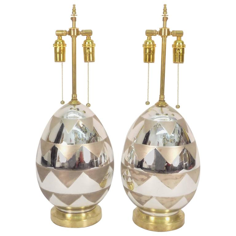 Mercury Glass Table Lamps For Sale At 1stdibs