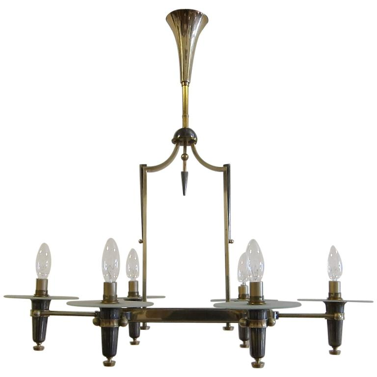 French Chandelier by Petitot