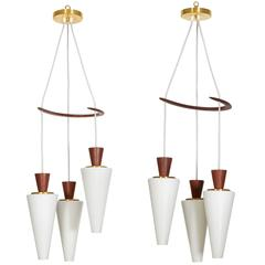 Pair of Svend Aage Holm Sorensen Hanging Lights