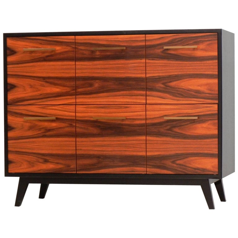 Record Cabinet for Vinyl LPs by Atocha Design, Six LP Drawers For Sale