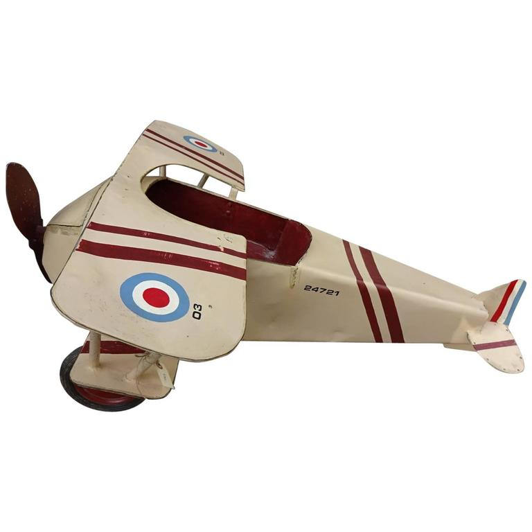 French Aeroplane for Children For Sale