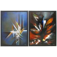 Pair or Single Nierman Painting