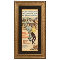 Elvis Presley 'Viva Las Vegas' 1964 Original Poster
