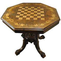 19th Century Games / Lamp / Center Table