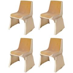 Rare Stacking Chairs by Prof. Günther Domenig