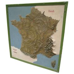 Map of France from Eternit