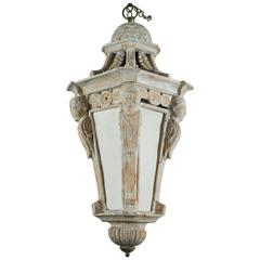 Early 19th Century Carved Italian Lantern