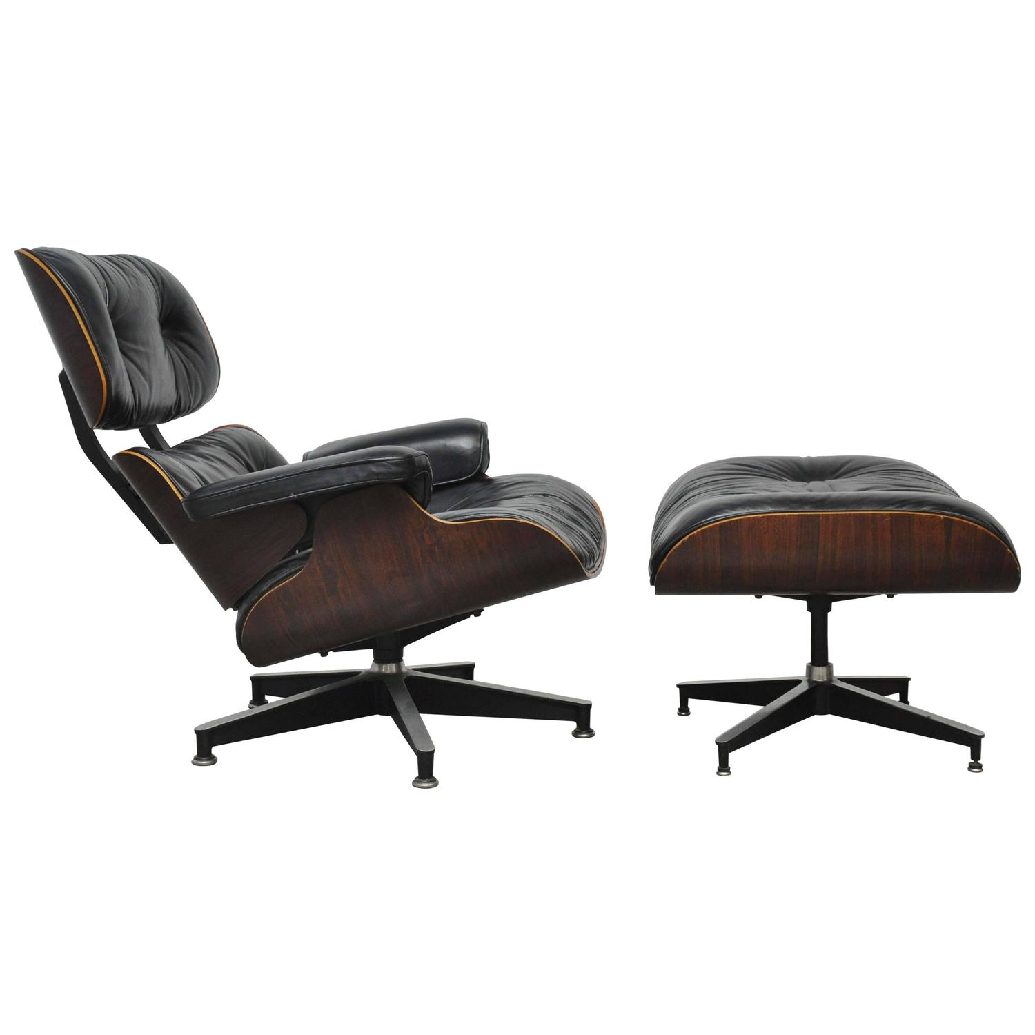 Rosewood Charles Eames Lounge Chair for Herman Miller For Sale at 1stdibs