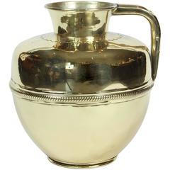 Antique French Brass Jug