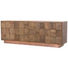 Oak and Elm Sideboard
