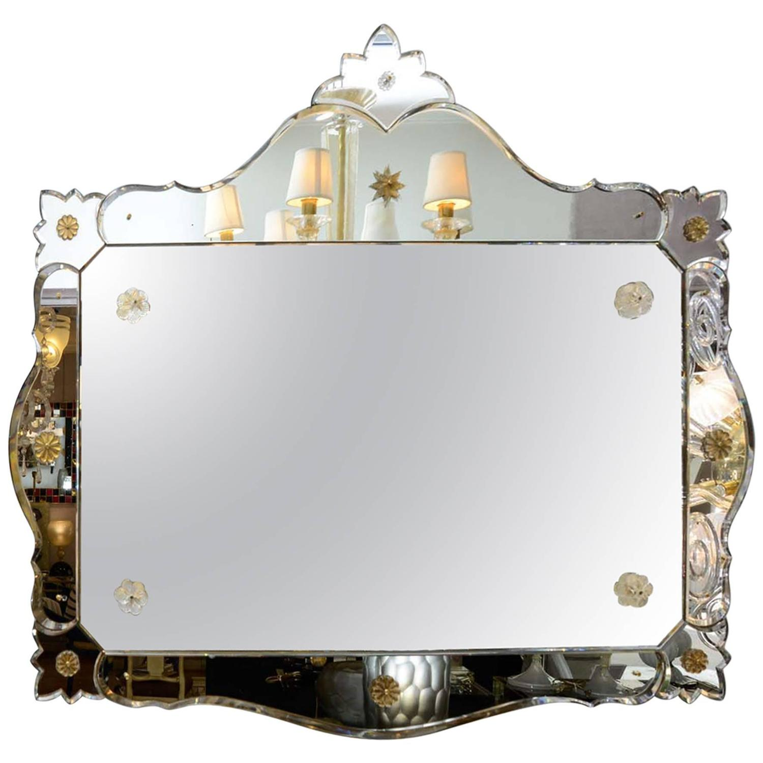 Decorative mirror for sale at 1stdibs for Fancy mirrors for sale