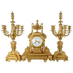 Mantel Clock Ornament