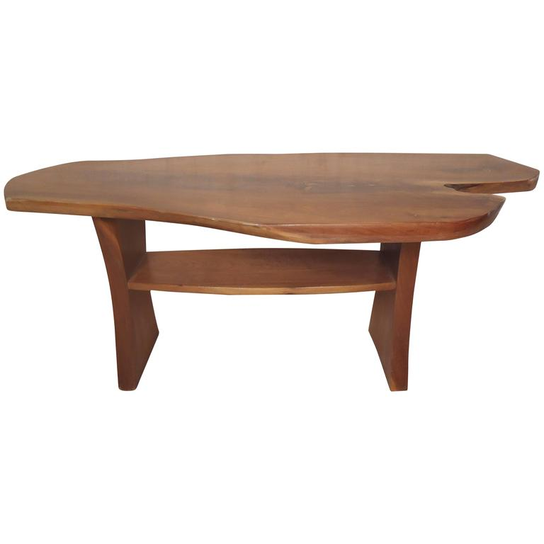 Vintage Live Edge Table or Bench