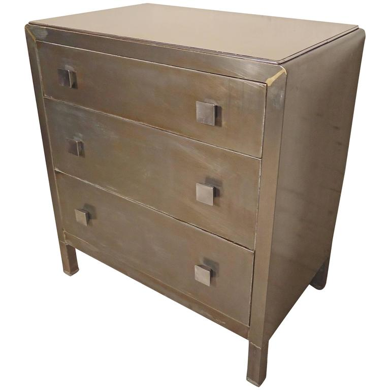 vintage metal dresser hospital furniture 5. Metal Dresser By Simmons Furniture At 1stdibs Vintage Metal Dresser Hospital Furniture 5