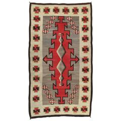 Antique Navajo Carpet
