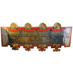 1950s Folk Art Carousel Surround