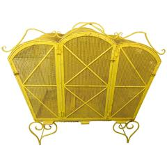 Stunning French Coloured Birdcage Display Piece
