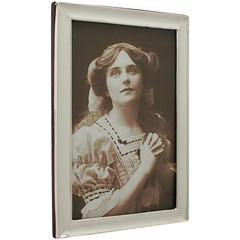 George V Sterling Silver Photograph Frame