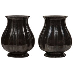 Early 20th Century Matched Set Of Three of Fulper Vases