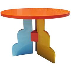 Memphis Style Table by Milo Baughman for Thayer Coggin