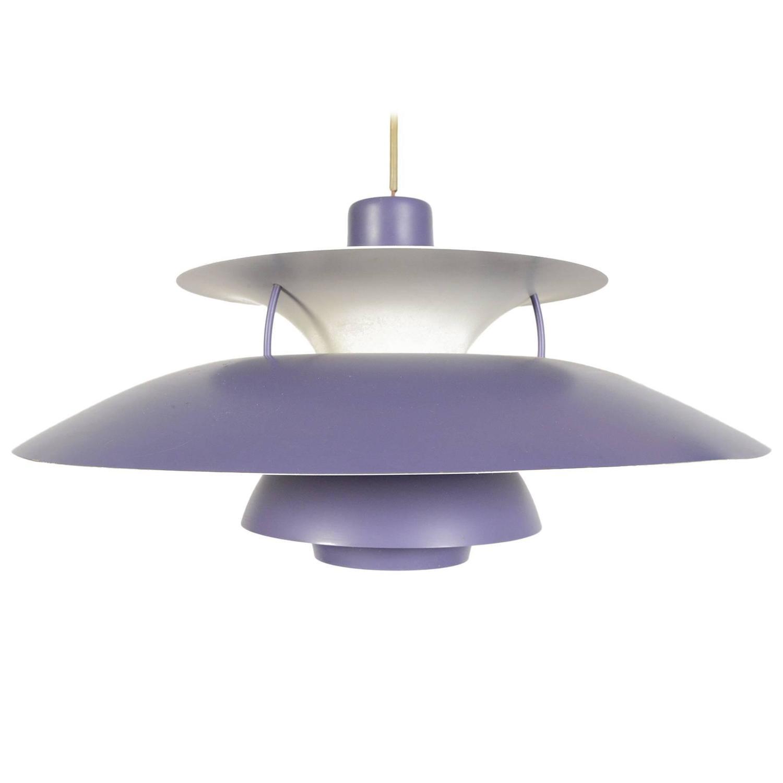 ph5 pendant by poul henningsen for sale at 1stdibs. Black Bedroom Furniture Sets. Home Design Ideas