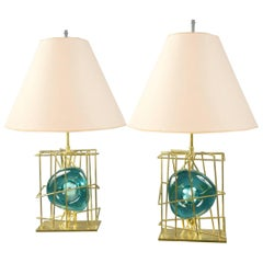 Pair of Table Lamps by Roberto Rida, Italy, 2016