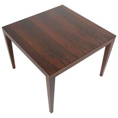 Severin Hansen Rosewood Square Coffee Table