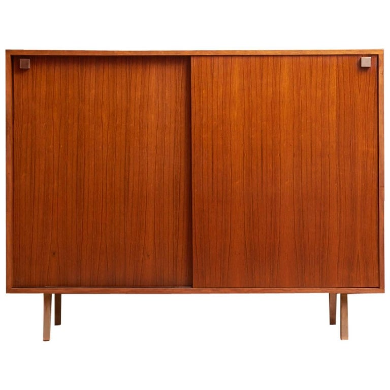 Rosewood High Sideboard Designed by Alfred Hendrickx by Belform, 1968 For Sale