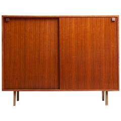 Rosewood High Sideboard Designed by Alfred Hendrickx by Belform, 1968