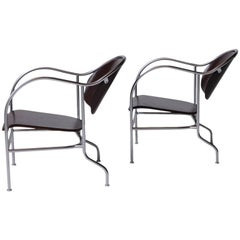"""Pair of """"Sven"""" Easy Chairs by Mats Theselius"""