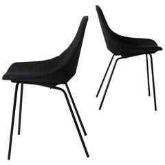 "Pair of ""Tonneau"" Chairs by Pierre Guariche"