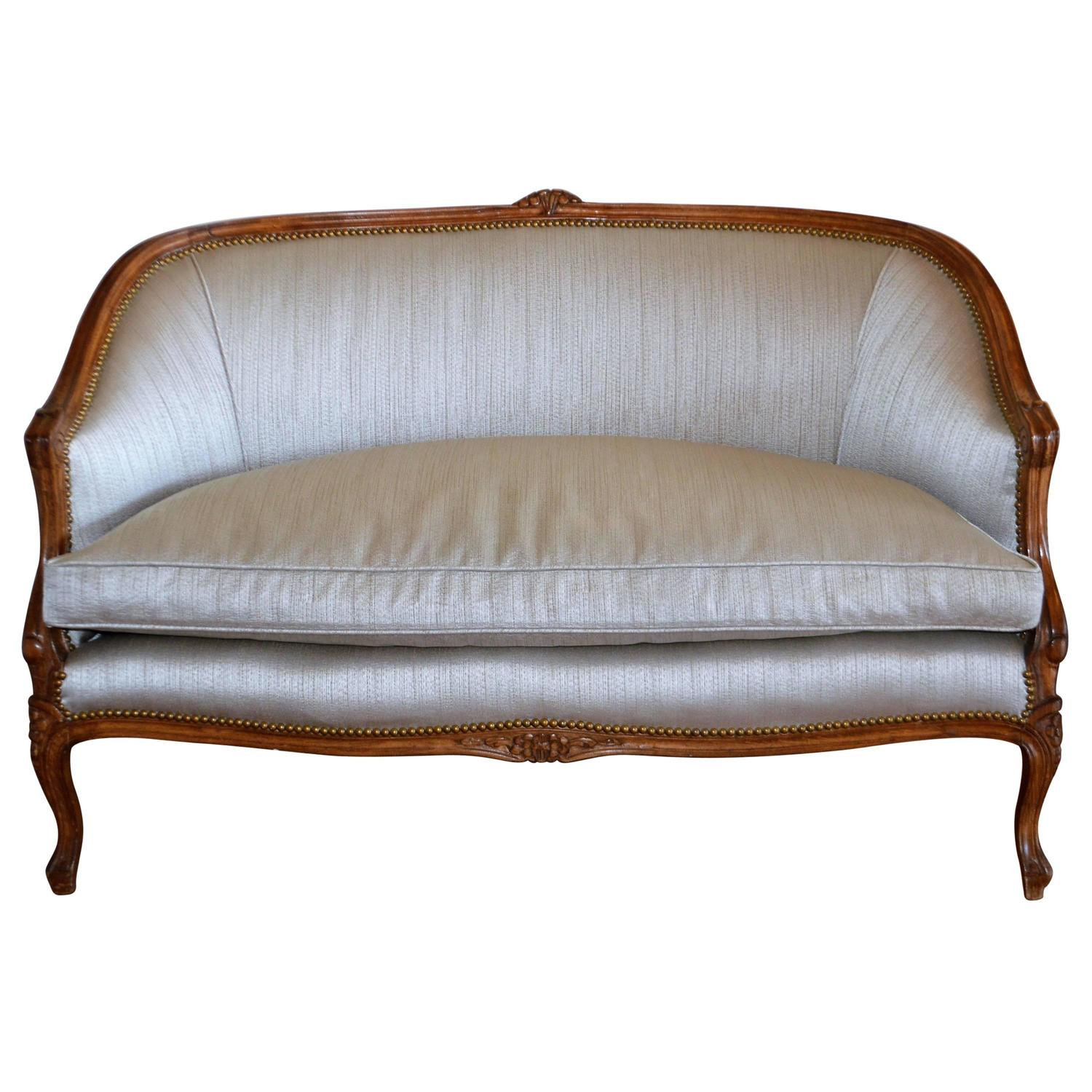 Louis xv style canape for sale at 1stdibs for Canape style louis xv