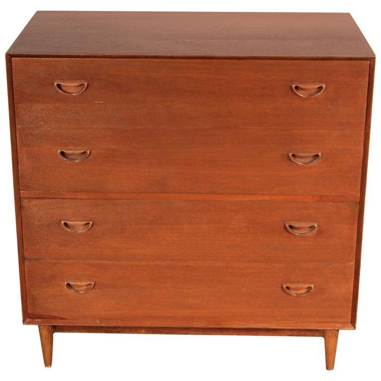 Peter Hvidt Four-Drawer Dresser and Vanity