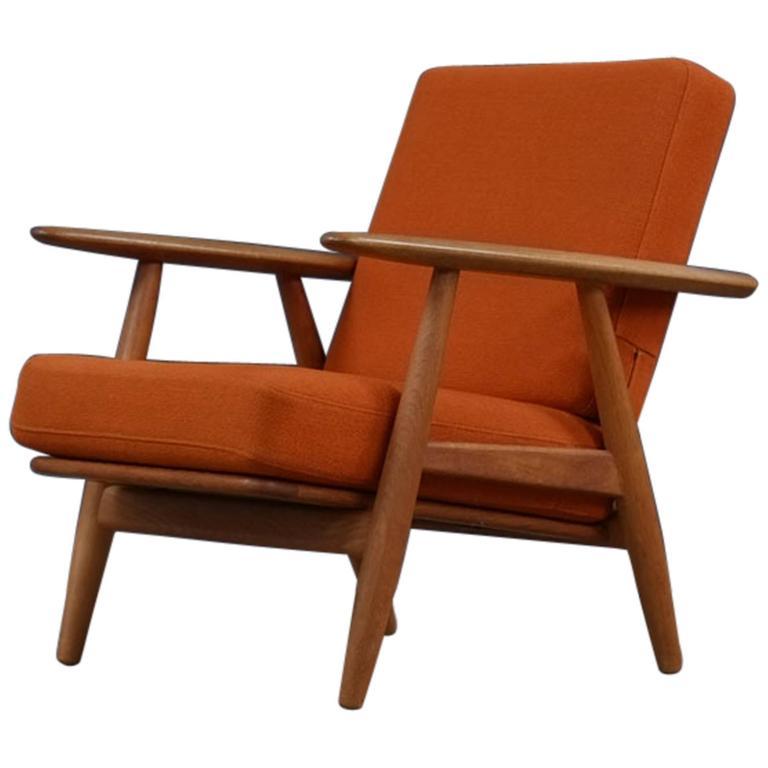 Hans Wegner Cigar Chair at 1stdibs