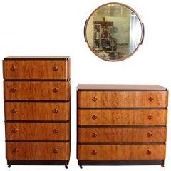 Art Deco Donald Deskey Valentine Seaver Bedroom Suite 3 Pieces
