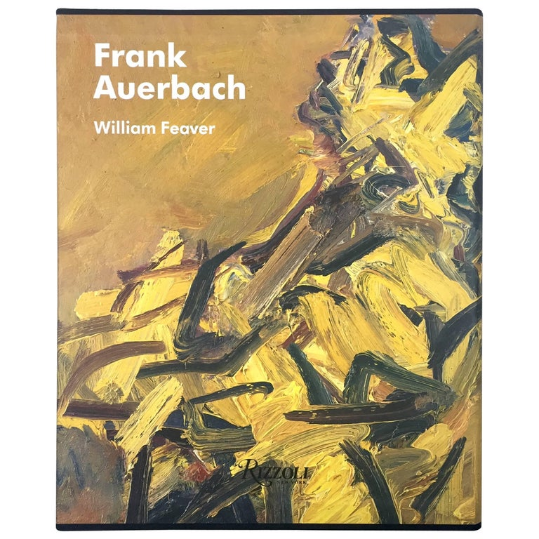 Frank Auerbach, William Feaver Signed For Sale
