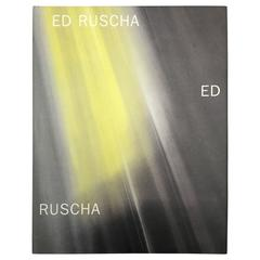 Ed Ruscha: New Paintings and a Retrospective on Works of Paper, Signed