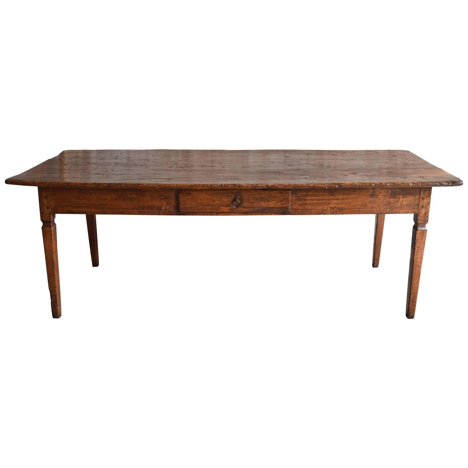 Italian Farm Table in Pioppo Wood circa 1800 at 1stdibs : 5000283z from www.1stdibs.com size 1500 x 1500 jpeg 57kB