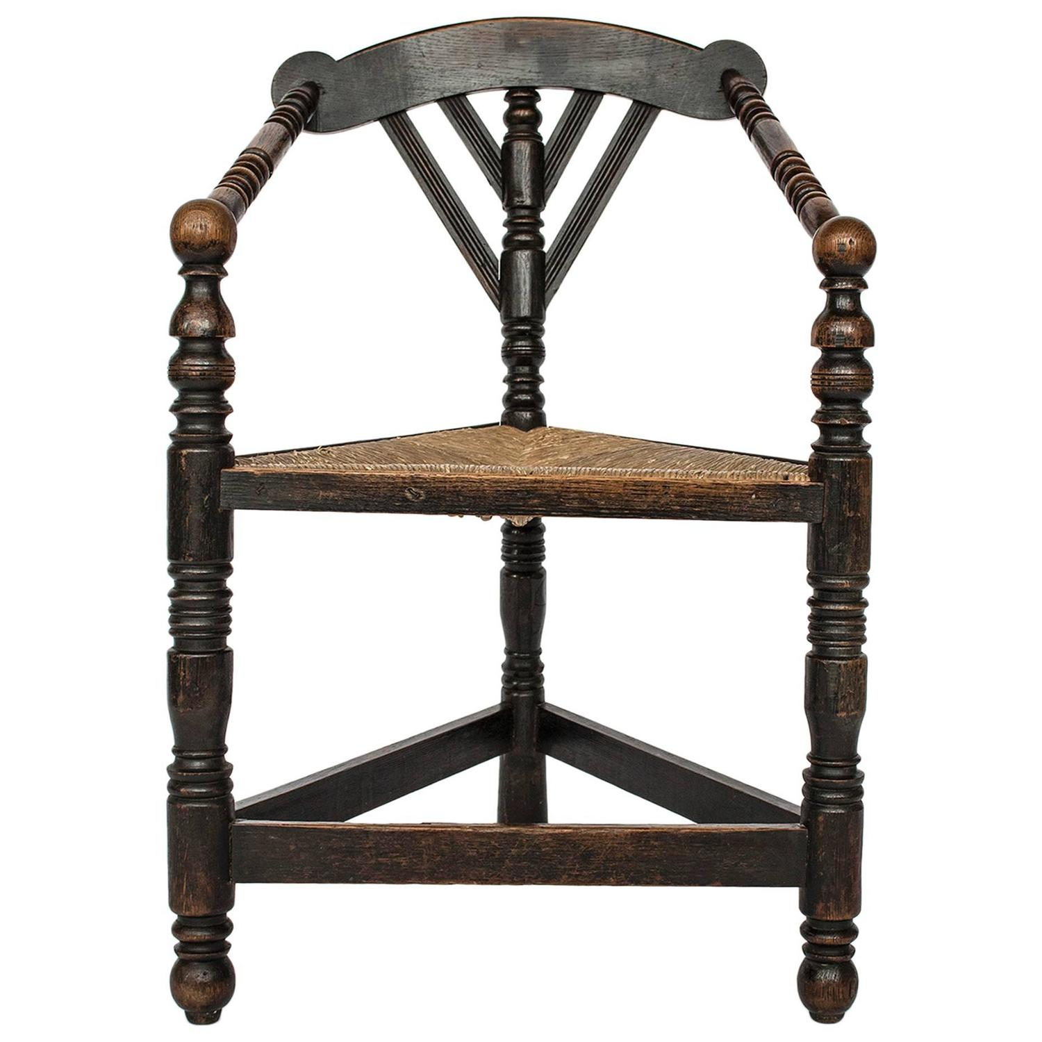 Antique Three Legged Chair Antique Furniture