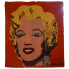 Fabulous Ege Art Rug Wall Hanging, in the style of Andy Warhol