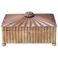 19th Century Indian Buffalo Horn Sewing Box