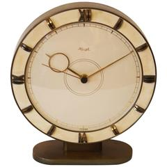 Big Kienzle Art Deco Table Clock, 1930s