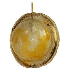 "Mazzega ""Lollipop"" Globe Pendant"