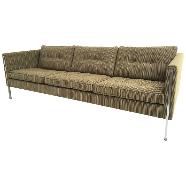 Pierre Paulin 442/3 Sofa for Artifort, 1962 in Sophisticated De Ploeg Upholstery For Sale