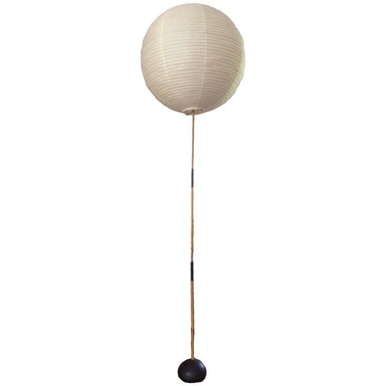 Isamu Noguchi Bamboo Floor Lamp at 1stdibs